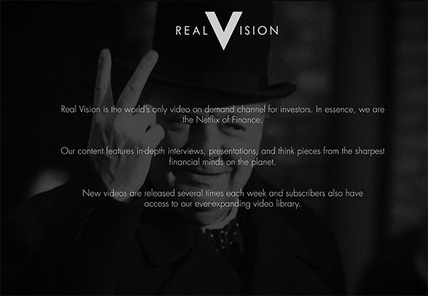 Real Vision TV Slide 2